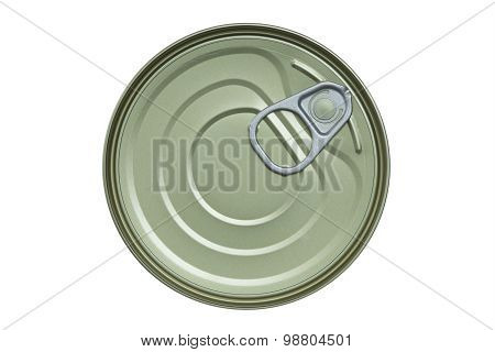 Food Can Isolated On White Background