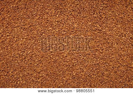 Instant Coffee Granules Background