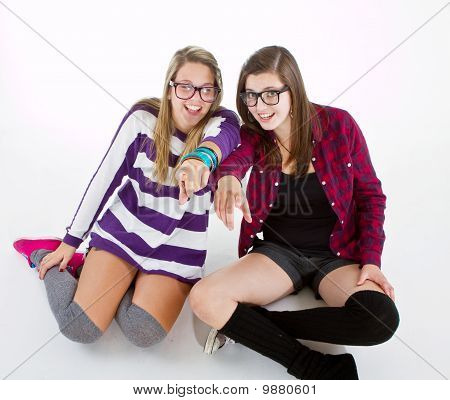 Young Trendy Teenagers