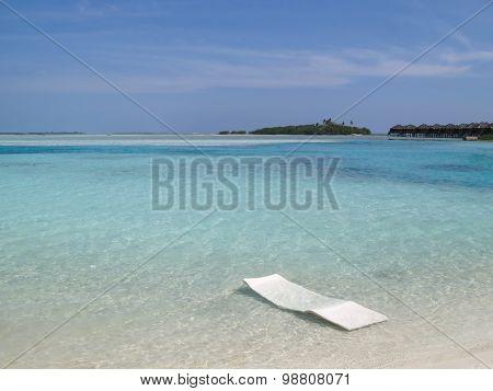 Dream Beach On The Maldives