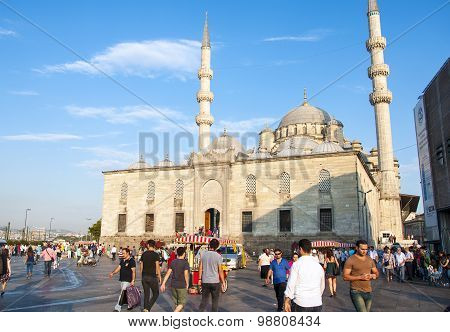 New Mosque , Istanbul, Turkey