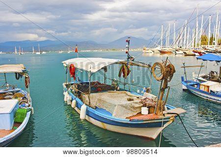 Fishing boats, Fethiye, Turkey