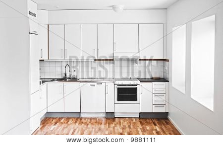 A Stylish Modern Kitchen Interior