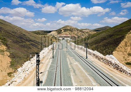 Spain, Andalusia, Railway Track
