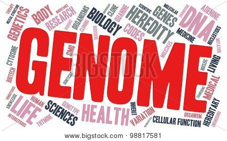 Genome Word Cloud