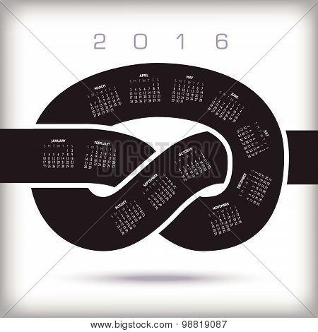 2016 Creative Knot Calendar