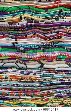 Colourful Traditional Shawls