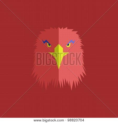 red eagle head