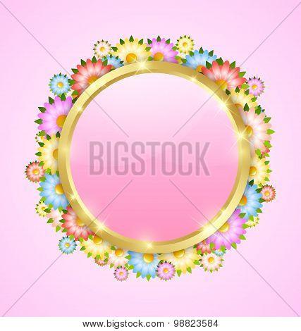 Flower Bubble Template