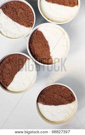 Milk And Chocolate Icecream