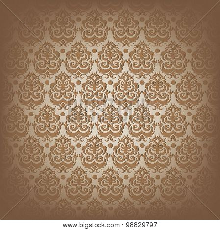 Antique seamless vector pattern.