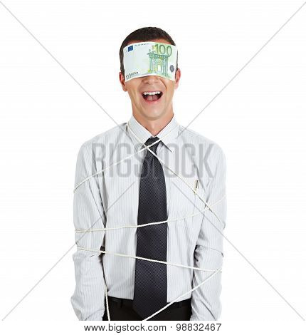 Tied Businessman