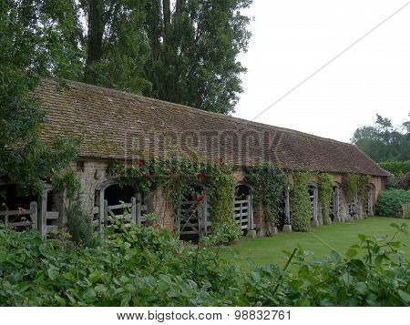 Old Gated Outbuilding