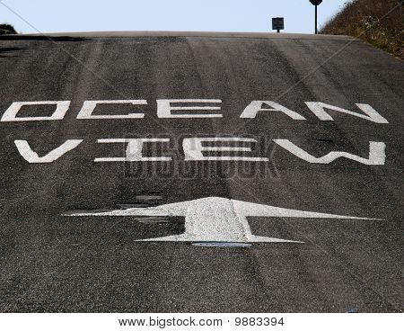 Ocean View Ahead