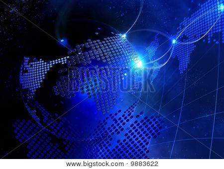 Blue Digitall Virtual Background