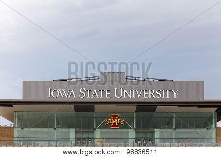 Jack Trice Football Stadium At Iowa State University