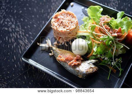 Fry Mackerel Set