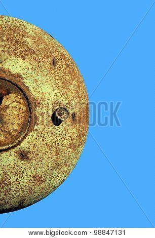 old ferruginous metal
