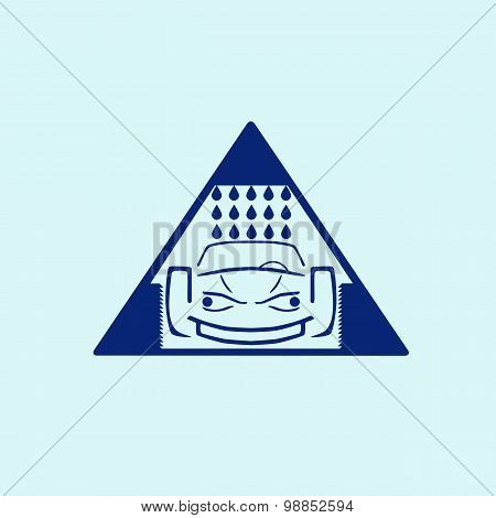 Car wash symbol