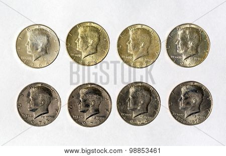 Us Coins, Currency, Money