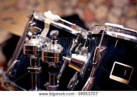 Drums Detail In Studio