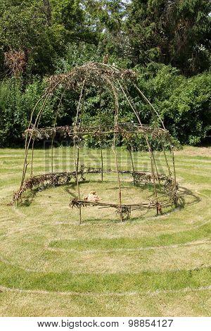 Garden Labyrinth.