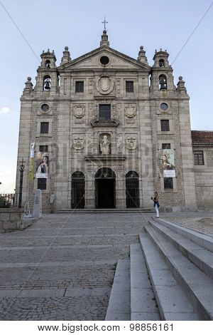 Convent of Santa Teresa, Avila, Unesco World Heritage Site, Castillia Y Leon, Spain
