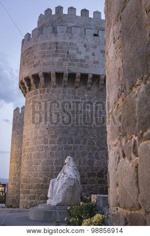 Monument Of Saint Teresa Of Avila, Avila, Spain