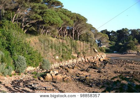 In northwestern France. Brehat island.