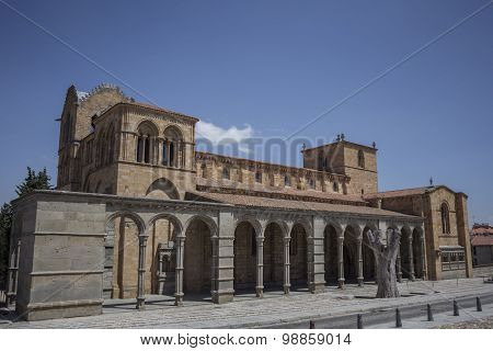 Basilica Of San Vicente, Avila, Spain