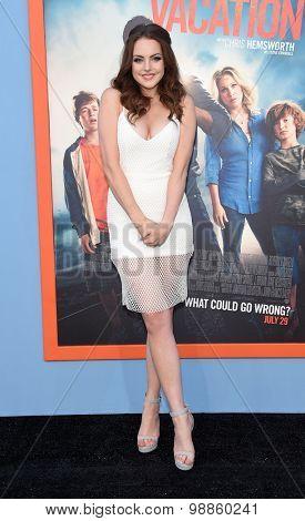 LOS ANGELES - JUL 27:  Elizabeth Gillies arrives to the