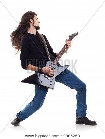 Passionate Guitarist