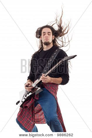 Heavy Metal Guitarist
