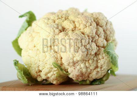 Cauliflower On Table