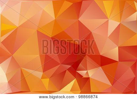 Abstract Triangle Polygonal Background