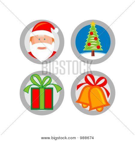 Christmas: Icon Set 08 - Version 1