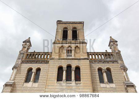 Notre-Dame church in Digoin, France