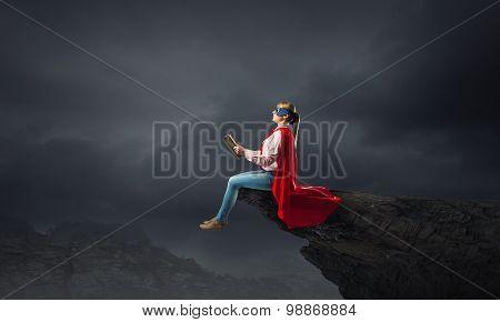 Feeling like super woman