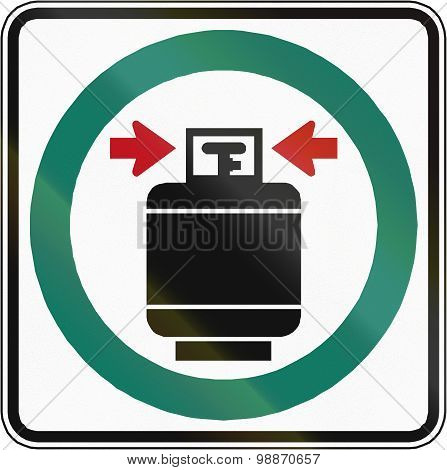 Close And Seal Gas Tanks In Canada