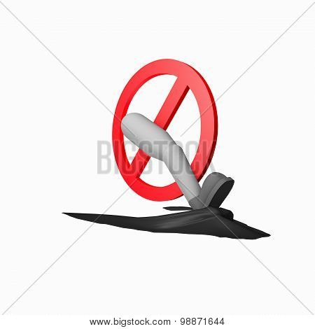 Symbol Do Not Brake