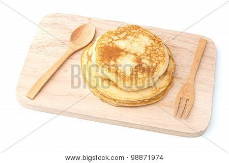 Fresh Hot Homemade Pancakes