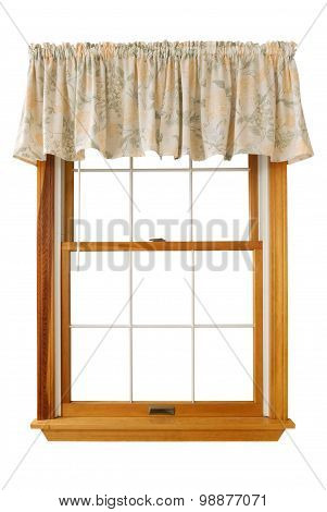 Window with Valance, Isolated