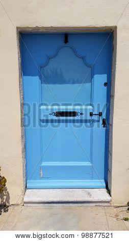 Blue Door In Provence