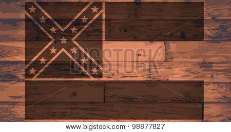 Mississippi Flag Brand