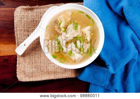 Homemade Wonton Soup