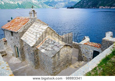 Our Lady Of The Angles Chapel, Bay Of Kotor