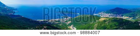 Adriatic Sea Coast Panorama
