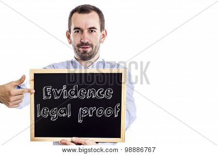 Evidence Legal Proof