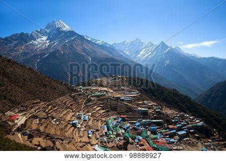 Namche Bazaar View, Nepal