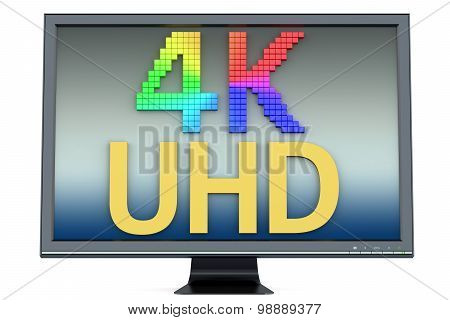 4K Ultra Hd Multicolored Concept